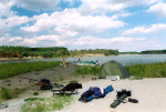 Außen-Camp freies Bojenfischen