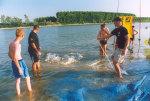Christian (Sportex) und Micha (Pure Fishing)