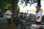 Grillen im Camp